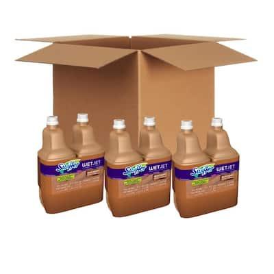 WetJet 42.2 oz. Multi-Purpose Hardwood Floor Cleaner Solution Refill (2-Count, 3-Pack)