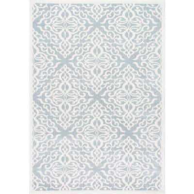 Contessa Ombre Gray 10 ft. x 14 ft.  Area Rug
