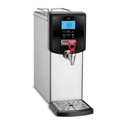 Silver 48-Cup 3-Gal. Hot Water Dispenser 120-Volt 5 to 15 Plug