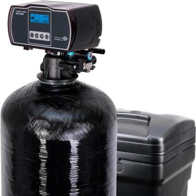 Harmony Series 64,000 Grain Water Softener with Fine Mesh Resin for Iron Removal