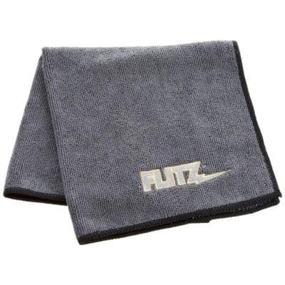 Premium 16 in. x 16 in. Microfiber Thick'n Thirsty Grey Polishing Cloth Bagged (12-Pack)