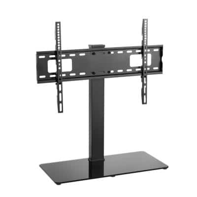 Large Tabletop TV Stand Mount with 35° Swivel for 37-70 in. TVs