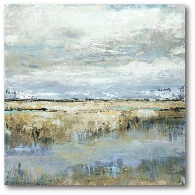Coastal Marsh Gallery-Wrapped Canvas Wall Art, 30 in. x30 in.