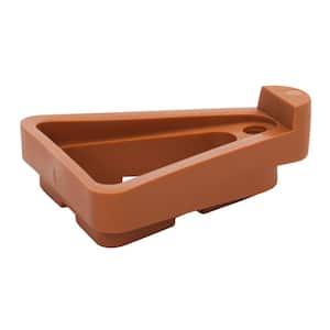 2-1/4 in. W x 2-3/4 in. L Terra-Cotta Plastic Pot Toes (12-Pack)