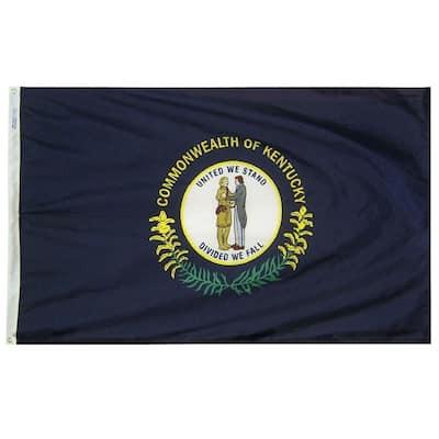 5 ft. x 8 ft. Nylon Kentucky State Flag