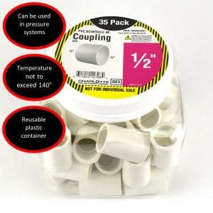 1/2 in. PVC Coupling S x S Pro Pack (35-Pack)