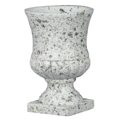 4.5 in. Granite Cement Remus Urn Planter