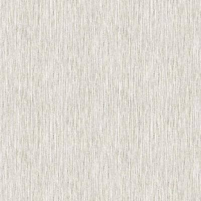 Cream Vinyl Non-Pasted Moisture Resistant Wallpaper Roll (Covers 56 Sq. Ft.)