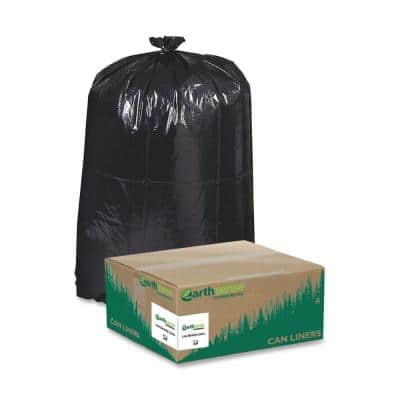 33 Gal. Heavy-Duty Recycled Can Liners (100 Per Carton)