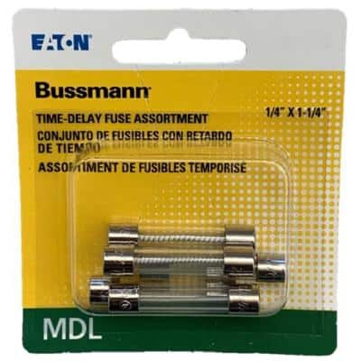 MDL Time Delay Electronic Fuse Assortment .5, 1, 2, 3, 5 amp fuses included