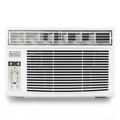 Black and Decker 14,500 BTU Window Air Conditioner with Remote in White