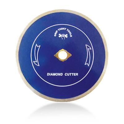 7 in. Premium Continuous Rim Tile Cutting Diamond Blade for Cutting Porcelain, Ceramic and Marble