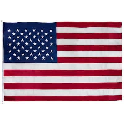 8 ft. x 12 ft. Nylon Large Commercial United States Flag