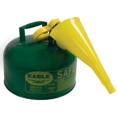 2 Gal. Metal Safety Fuel Can with Funnel