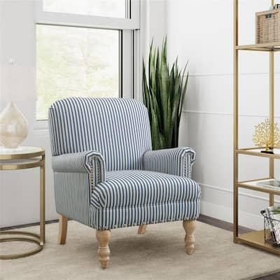Joy Blue Accent Chair