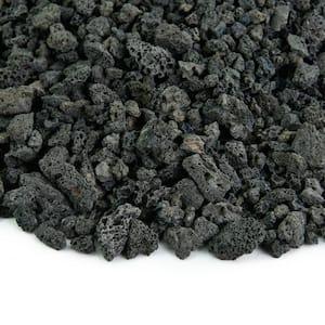 10 lbs. Black Lava Rock 3/8 in.
