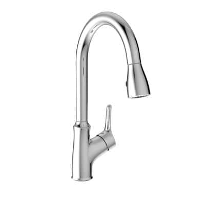 Belanger Single-Handle Pull-Down Sprayer Kitchen Faucet in Chrome
