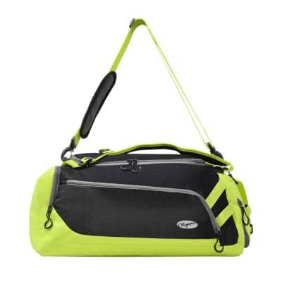 Blitz 22 in. Black and Lime Gym Duffel Bag