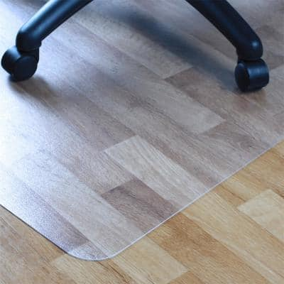 Advantagemat® Vinyl Lipped Chair Mat for Hard Floor - 36 in. x 48 in.
