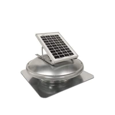 10 Watt Solar Powered Roof Mount Attic Fan