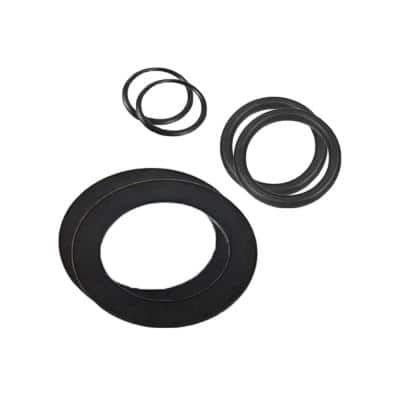 Large Strainer Rubber Washer and Ring Pack Replacement Pool Parts (2-Pack)