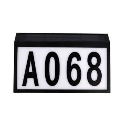 Solar Address Sign Up to 5 Digits