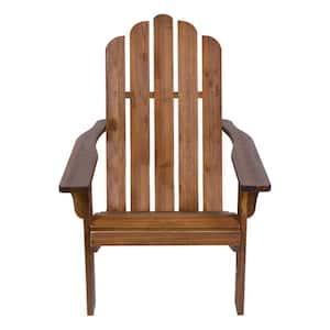 Marina II Hydro-Tex 37.5 in. Tall Oak Cedar Wood Adirondack Chair