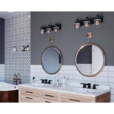Transitional Vanity Lighting Lighting The Home Depot
