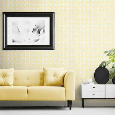Mod Lattice Peel and Stick Wallpaper (Covers 28.29 sq. ft.)