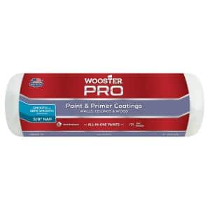 9 in. x 3/8 in. Pro High-Density Prime and Paint Roller Cover