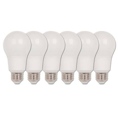 40-Watt Equivalent Omni A19 Dimmable ENERGY STAR LED Light Bulb Bright White (6-Pack)