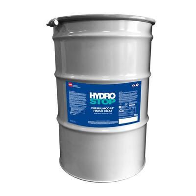 HydroStop PremiumCoat 55 Gal. Gray Finish Coat Acrylic Elastomeric Roof Coating (15-Year Limited Warranty)