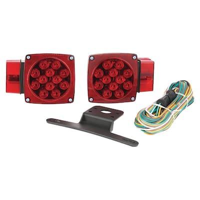 80 in. Over and Under LED Trailer Light Kit