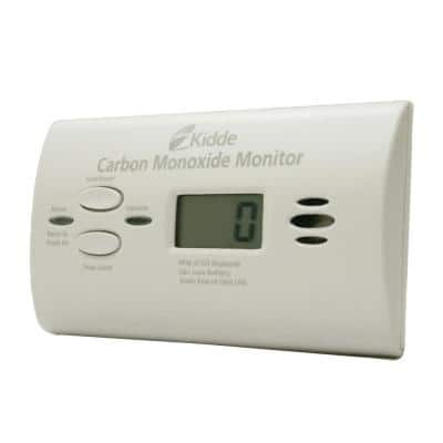 Ultra-Sensitive Battery Operated Carbon Monoxide Detector with Digital Display
