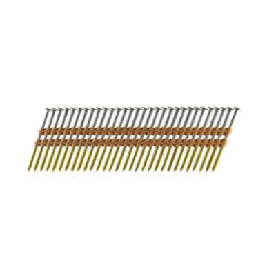 3-1/4 in. x 0.120 Plastic Collated HD Galvanized Ring Shank Framing Nails (500 per Box)