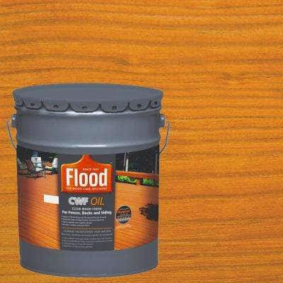 5 Gal. Clear CWF Oil Penetrating Exterior Wood Stain