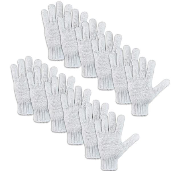 Bison Life Heavy Weight 7 Gauge Knit Gloves 6 Pair Bis Kbg 05 6 The Home Depot