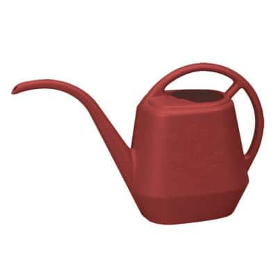 Aqua Rite 1/2 Gal. Burnt Red Plastic Watering Can