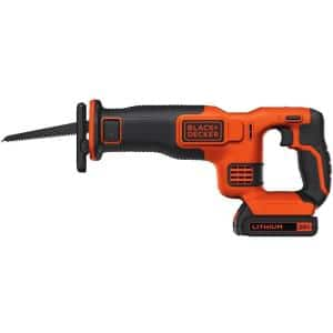 20-Volt MAX Cordless Reciprocating Saw with 1.5 Ahr Battery and Charger