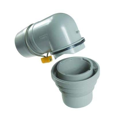 Easy Slip 4-in-1 Adapter with Elbow