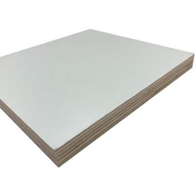 3/4 in. x 2 ft. x 2 ft. UV Prefinished White Project Panel