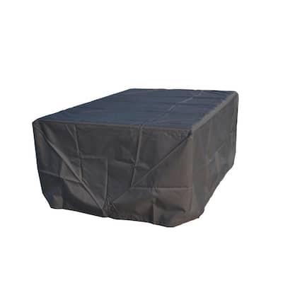 LIA 110 in. x 86 in. Rectangular Outdoor Furniture Set Rain Cover