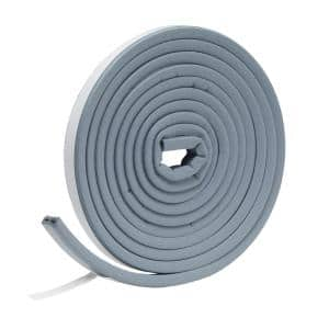 9/16 in. x 5/16 in. x 10 ft. Gray EPDM Cellular Rubber Weatherstrip Tape