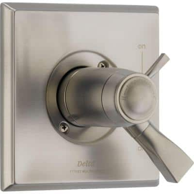 Dryden TempAssure 1-Handle Volume/Temperature Control Valve Trim Kit in Stainless (Valve Not Included)