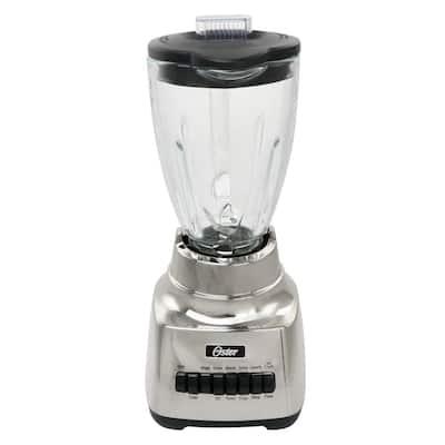 Make it Fresh 48 oz. 10 Speed Silver Power Blender