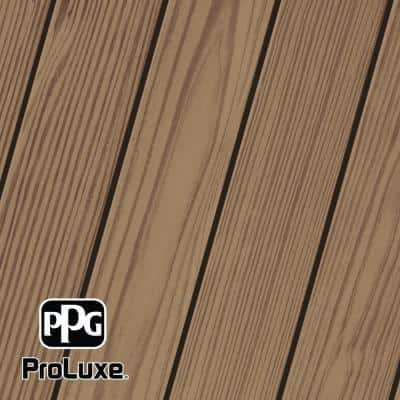 1 gal. #HDG-ST-201 Chestnut Brown SRD Exterior Semi-Transparent Matte Wood Finish
