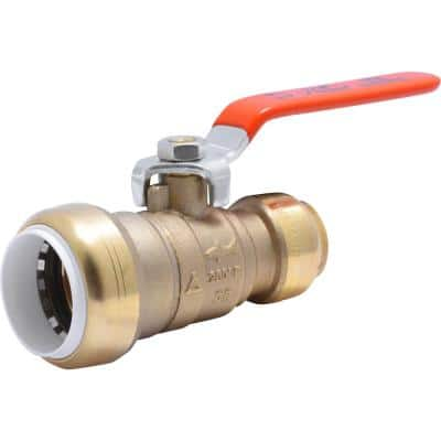1 in. Push-to-Connect PVC IPS x 3/4 in. CTS Brass Ball Valve