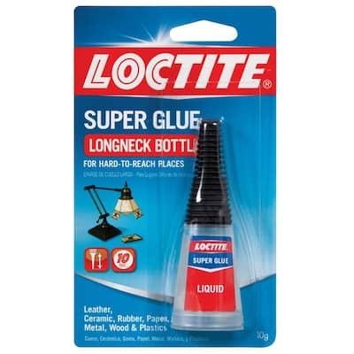 Longneck Bottle 10g Liquid Super Glue (6-Pack)