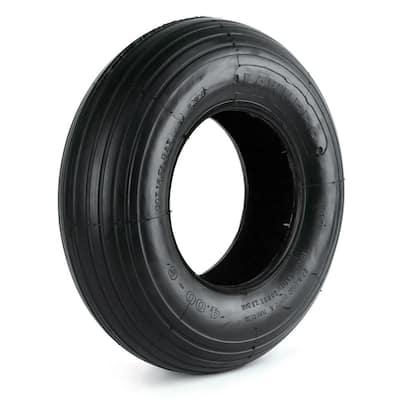 LawnPro Rib Tread 400-6 Tubeless 2-Ply Tire
