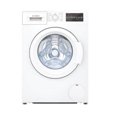 300 Series 24 in. 2.2 cu. ft. 240-Volt White High-Efficiency Front Load Compact Washer, ENERGY STAR